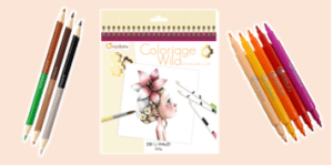 Avenue Mandarine Colouring Pads such as Coloriage Wild books by Emmanuel Colin