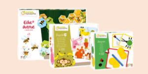 Avenue Mandarine Educational Game and Activity Boxsets for children and toddlers