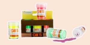 Avenue Mandarine Glitter such as Neon and Metallic 'Glit's'