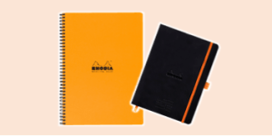 Rhodia meeting books, supplied by ExaClair