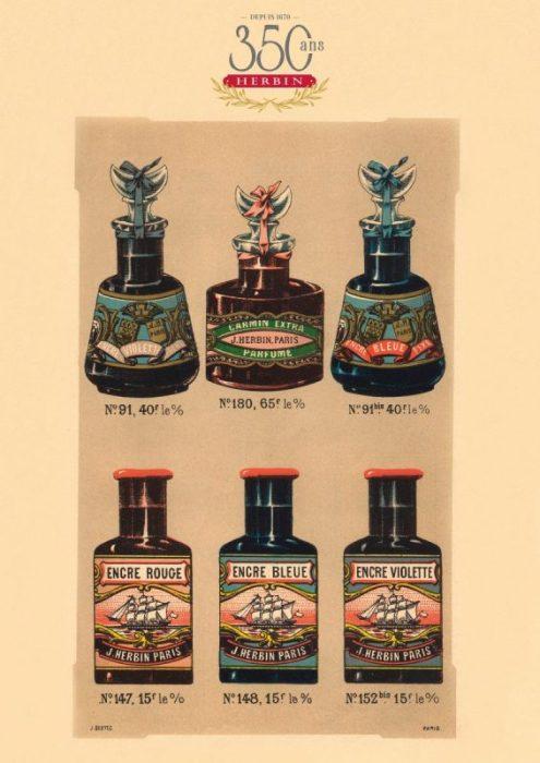 Herbin 350th Anniversary Poster