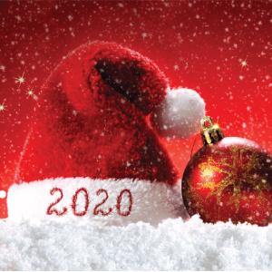 Merry Christmas 2020 Santa Hat
