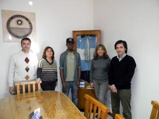 Dos alumnos extranjeros se integran a la vida de la FCEFN