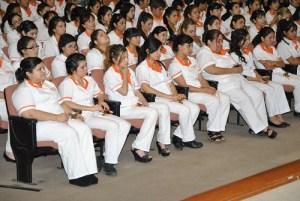 Alumnos de Enfermería