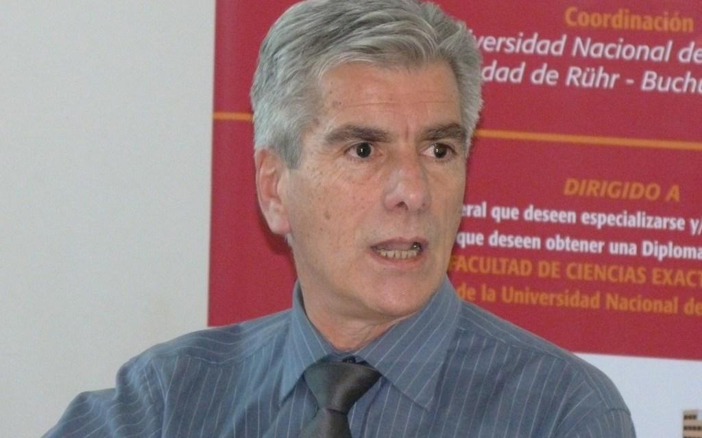 Conferencia de Daniel Beltrami: el IRAM arribó a la FCEFN