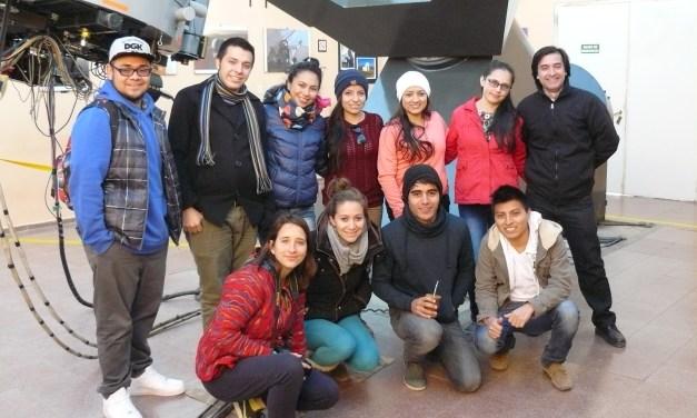 Alumnos de México y Colombia visitaron la Estación de Altura