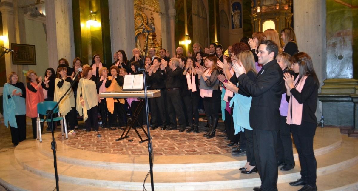 El Coro de Exactas actuó en Mendoza