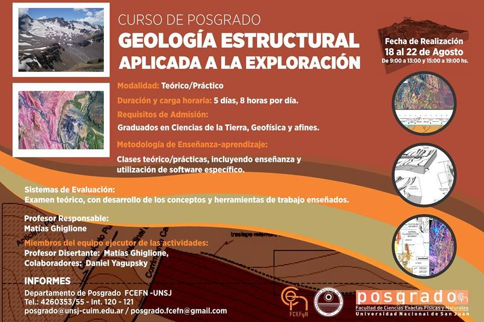 Posgrado: Geología Estructural aplicada a la exploración