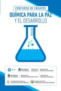 Química para la paz y el desarrollo