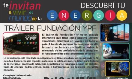 El Tráiler de Fundación YPF visitará el CUIM