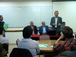 Rodolfo Bloch inaugura la Jornada