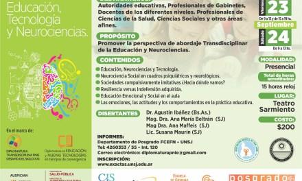 Seminario en Educación, Tecnología y Neurociencia