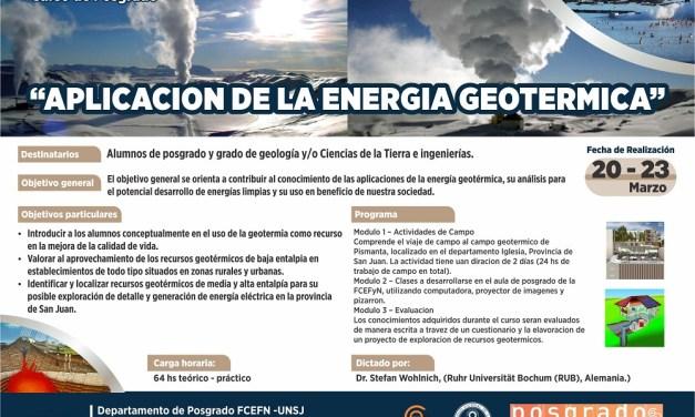 Aplicación de la Energía Geotérmica