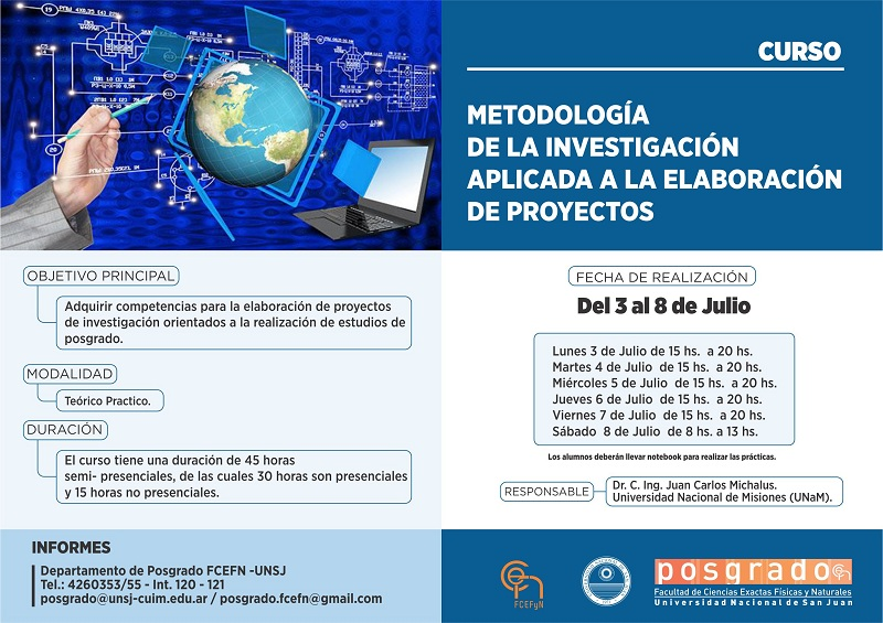 Metodología de la investigación aplicada a la elaboración de proyectos