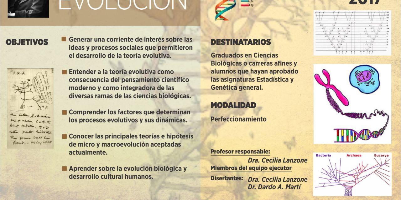 Curso de posgrado para biólogos: Evolución