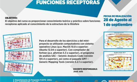 Curso de posgrado: Funciones receptoras
