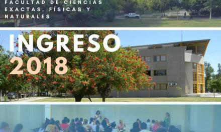 Información para el Ingreso 2018, Cursos de Apoyo a Distancia