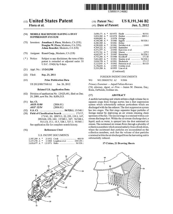 harvester-patent-detail