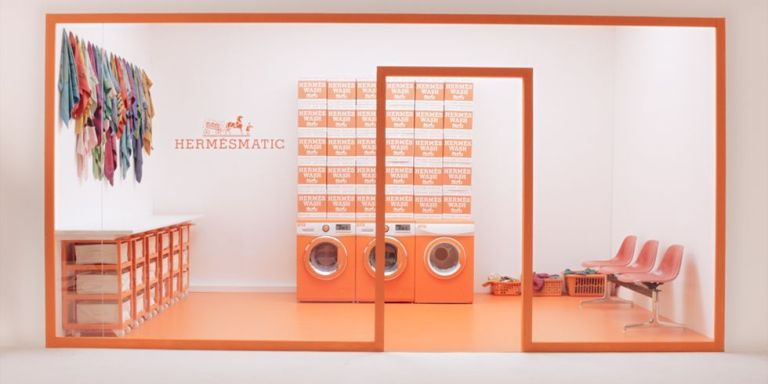 Hermès Laundromat - Experiential Marketing
