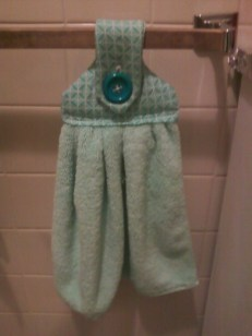 Bathroom Tea Towel