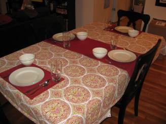 table cloth and runner project 020