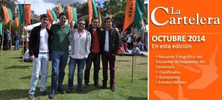 La Cartelera Octubre 2014