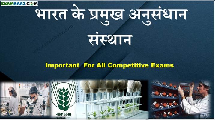 Research Institutes of India