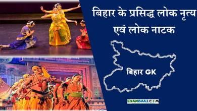 Photo of Bihar ke Pramukh Lok Nritya (बिहार के प्रसिद्ध लोक नृत्य एवं लोक नाटक*)