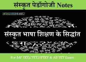 Sanskrit Bhasha Shikshan Ke Siddhant