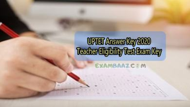 Photo of Uttar Pradesh TET 2020 Answer Sheet Download