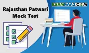 online test series for Rajasthan patwari