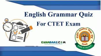 English Grammar Quiz For CTET