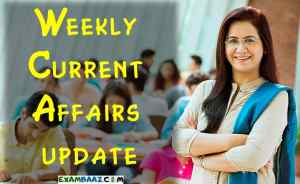 Top Weekly Current Affairs: 13 April to 19 April 2020