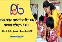 Photo of MP Samvida Shikshak Varg 3 Practice Question 2020 [Hindi & Pedagogy]