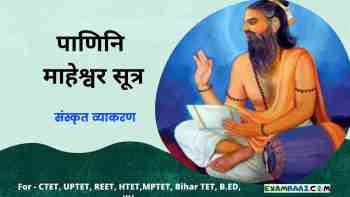 Maheshwar Sutra Important Questions