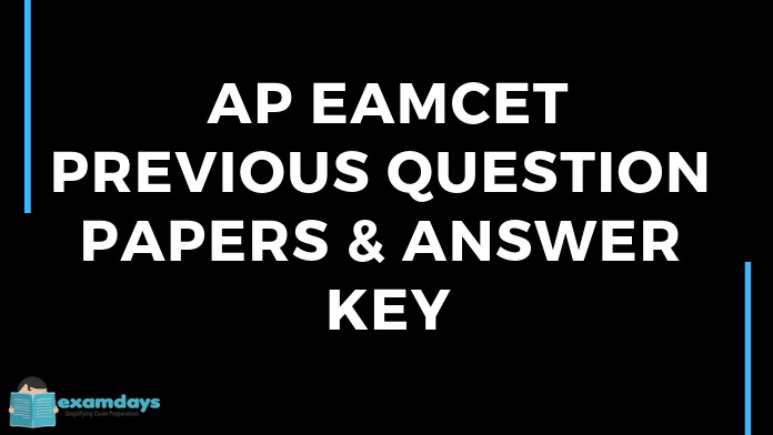 Eamcet Medical Previous Papers Pdf