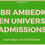 Dr BR Ambedkar Open University Admission