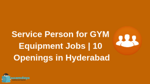 Service Person for GYM Equipment AFTON FITNESS ACTIVE SPORTS  10 Openings