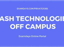 yash technologies off campus