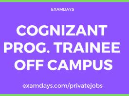 cognizant off campus