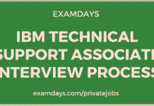ibm technical support associate interview process