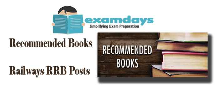 Recommended Books for Railways RRB ALP Technician and Group