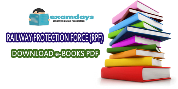 RRB RPF SI Constable books Download PDF