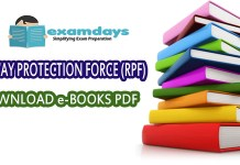 RPF SI Constable books Download PDF