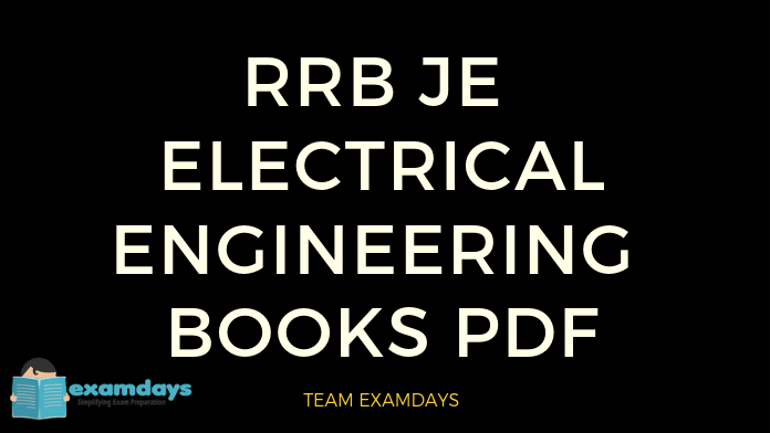 rrb je electrical engineering book