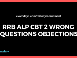 rrb alp cbt 2 wrong questions