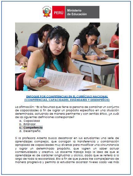 Temario resuelto para nombramiento docente 2021 - MD