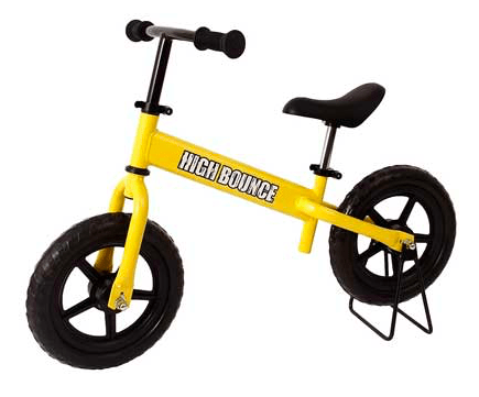 Bicicleta de equilibrio ajustable para niños High Bounce