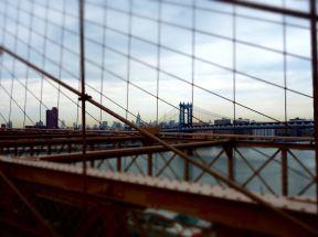 Through the Brooklyn Bridge