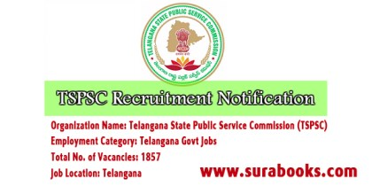 TSPSC Recruitment 2017 1857 Forest Beat Officer Posts